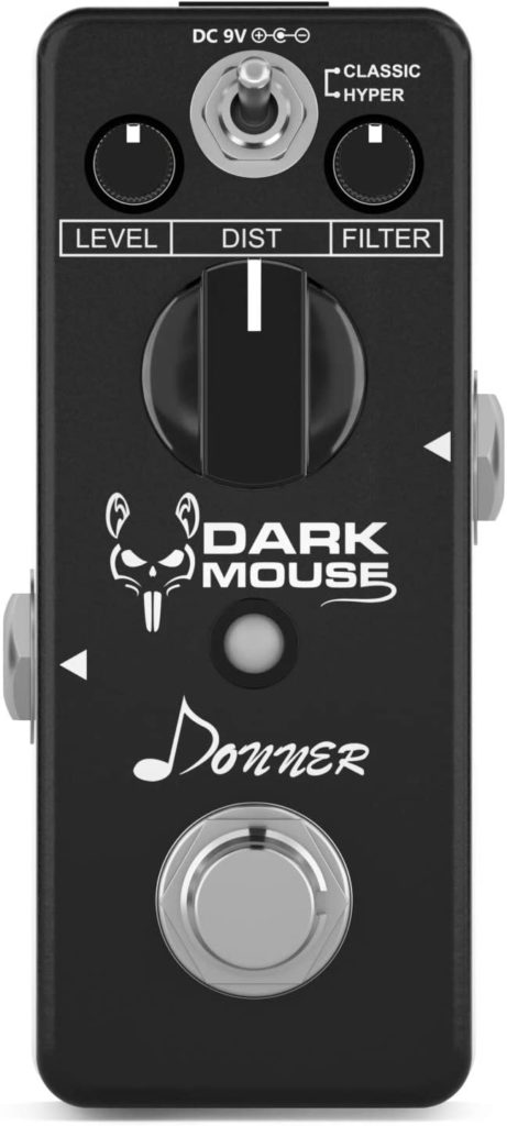 How To Build A Complete Pedalboard budget pedalboard Donner Dark Mouse Distortion