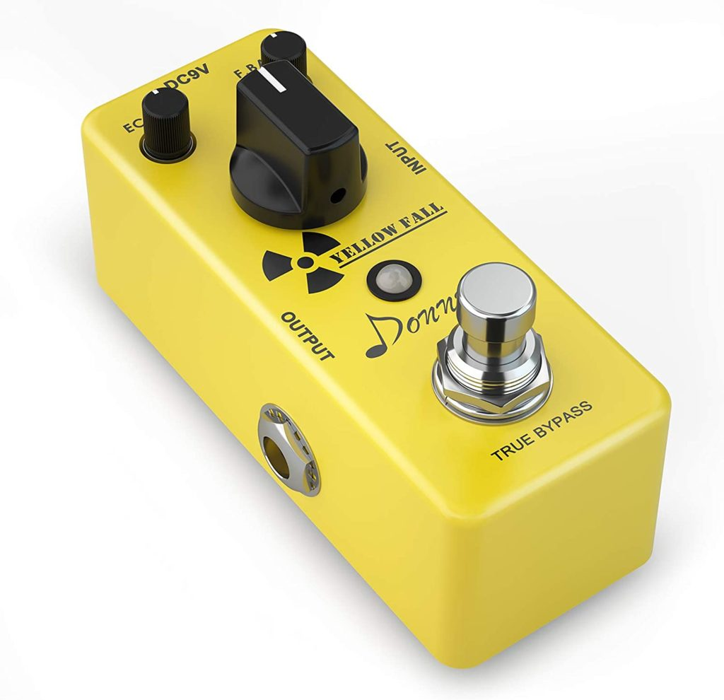How To Build A Complete Pedalboard budget pedalboard Donner Yellow Fall Vintage Analog Delay