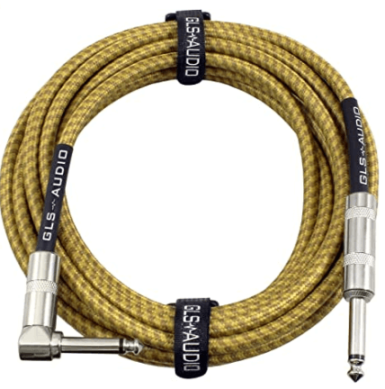 GLS Audio 20 Foot Guitar Instrument Cable The Ultimate Guide To Instrument Cables Rock Stock Pedals