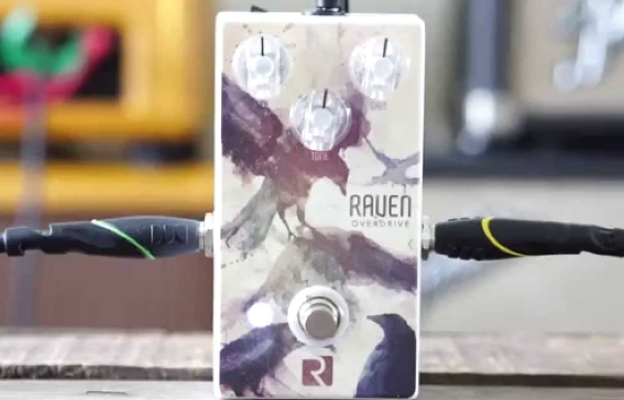 Rock Stock Raven Overdrive true bypass