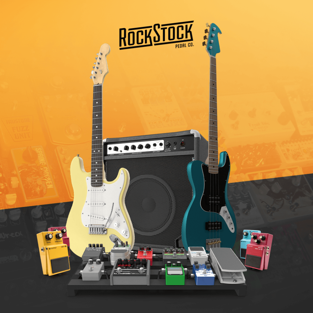 Rock Stock Pedals The Difference Between Guitar And Bass Effects