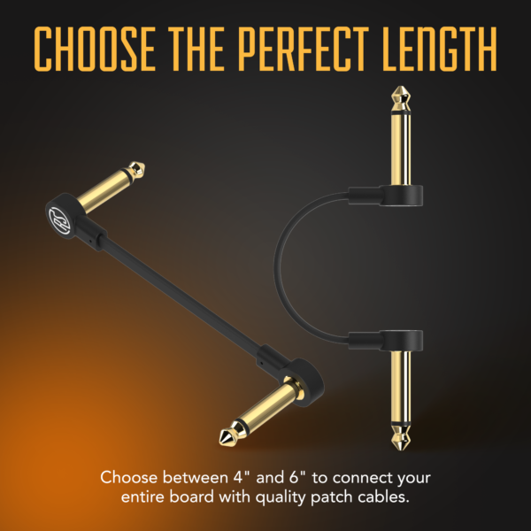 Flat Patch cable infographic Choose the perfect length